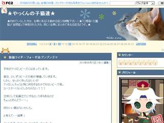 ★やっくんの子猫達★ 仮面ライダーフォーゼ☆ブンブンゴマ