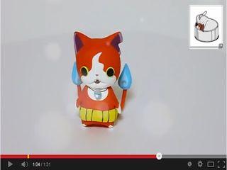 妖怪ウォッチ『ジバニャン』作ってみたニャン! - YouTube