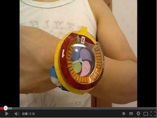 妖怪ウォッチ零式 作ってみた&作ってみよう【Homemade Yo-kai Watch Type ZERO】妖怪ウォッチ - YouTube
