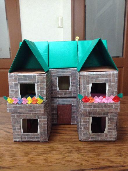折り紙ドールハウス