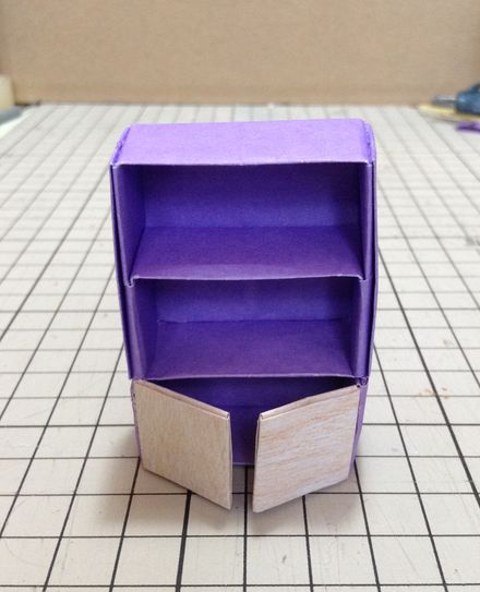 折り紙食器棚