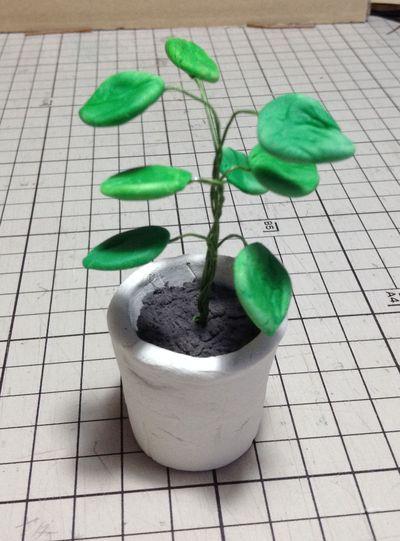 画像:[ミニチュア雑貨] 観葉植物
