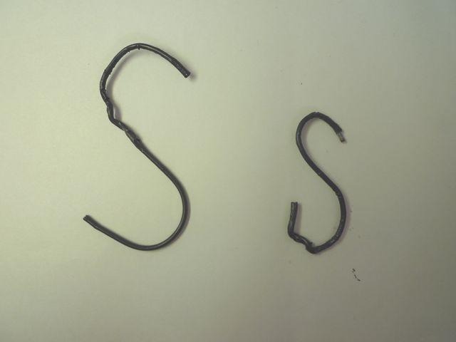 画像3:S字フックを自作