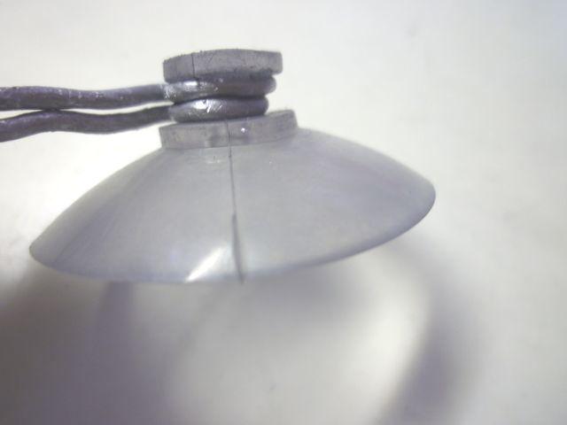 画像3:自作吸盤付きフレキシブルアーム