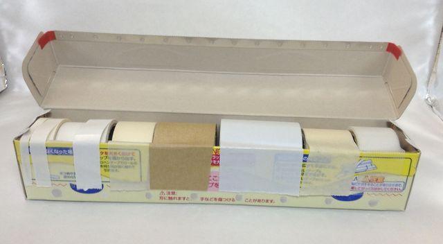 画像6:自作マルチテープカッター