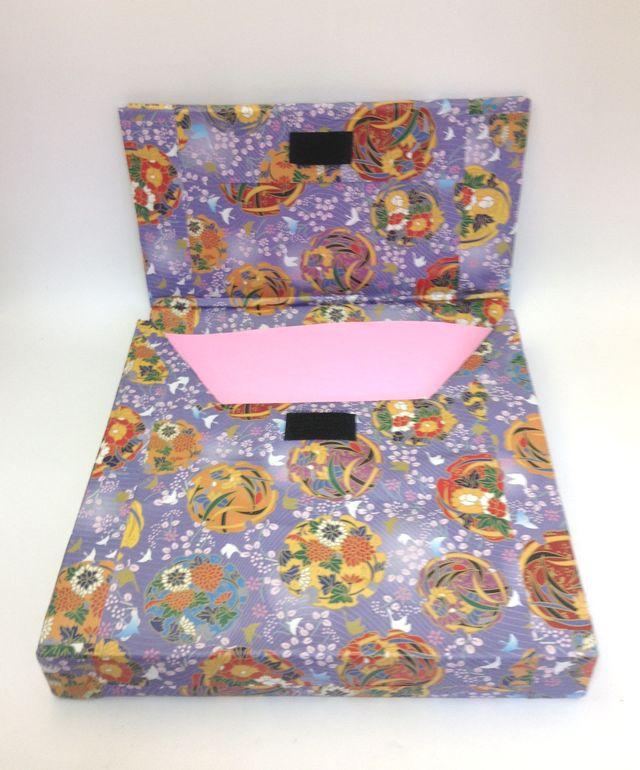 画像2:自作折り紙ケース