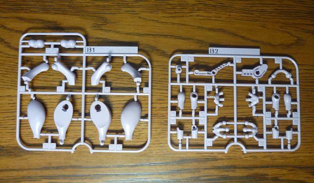 画像4:ポケモンのプラモデルを購入&組み立て - ミュウツー
