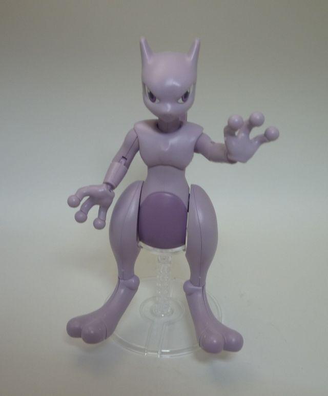 画像5:ポケモンのプラモデルを購入&組み立て - ミュウツー