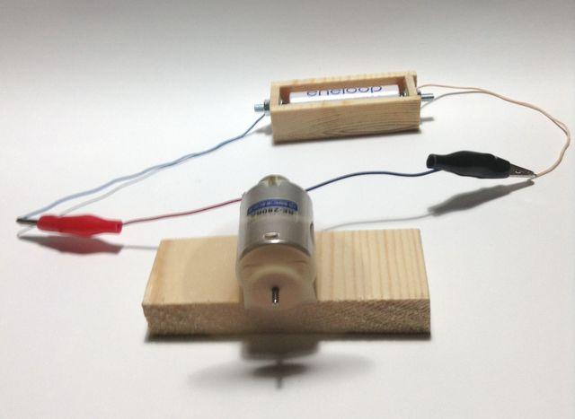 画像3:手作り電池ボックス