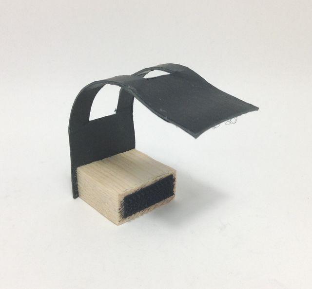 画像3:手作りモーターベース