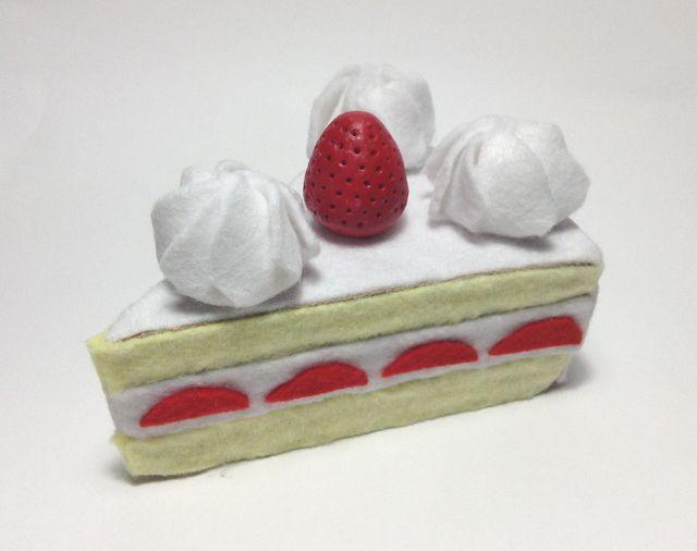 画像:ショートケーキ