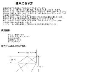 連凧の作り方
