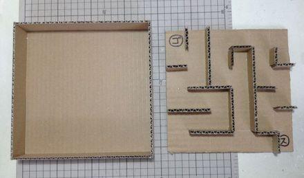 画像3:ビー玉迷路を作る 2