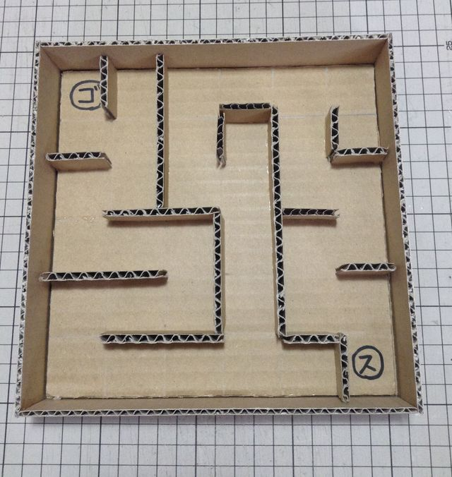 画像5:ビー玉迷路を作る 2