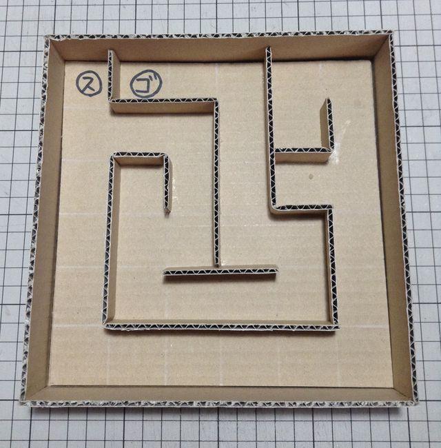 画像:ビー玉ころがしを作る 3-1
