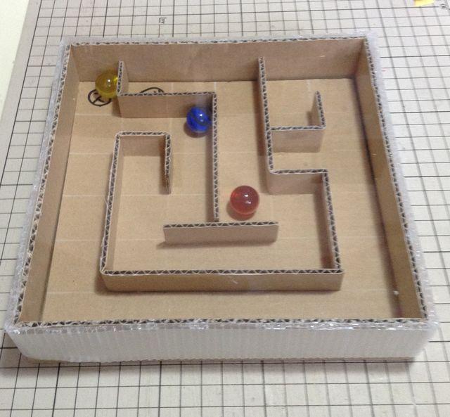 画像3:ビー玉ころがしを作る 4