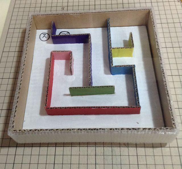 画像2:ビー玉ころがしを作る 5