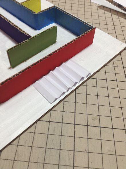 画像3:ビー玉迷路の工夫 1