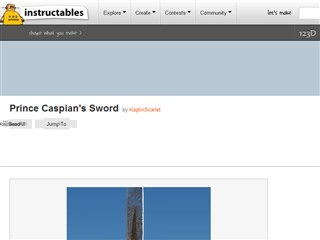 Prince Caspian's Sword