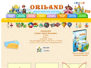 Oriland Origami Studio: Diagrams
