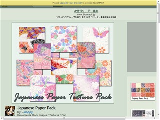 Japanese Paper Pack by ~Moppy on deviantART
