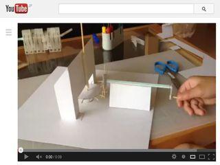 紙工作でメリーゴーランド1 - YouTube